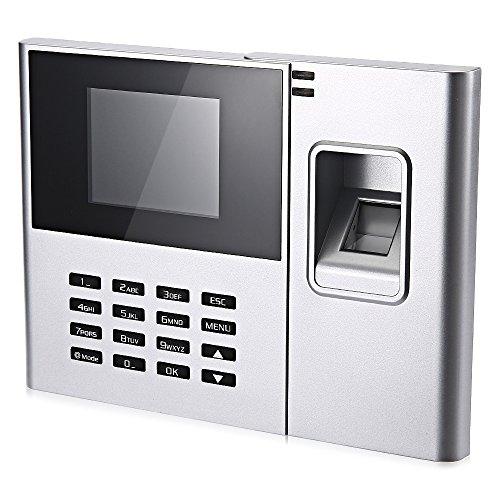 Face fingerprint attendance facial recognition business office punch card machine UK plug by SZYT (Image #4)