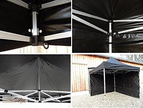 Motorrad-Racing Grün Tienda/Event - Gazebo/Plegable de Carpa Negro 6 x 3 Metros con andamio de Aluminio: Amazon.es: Deportes y aire libre