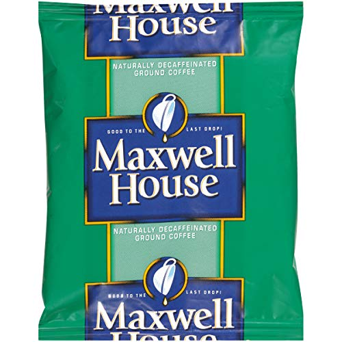 Maxwell House Shy Decaf Ground Coffee (1.5 oz Bags, Pack of ()
