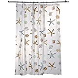 Oversized Shower Curtain Shower Curtain, Mildew Resistant Water-Repellent PEVA Shower Bath Curtain for Bathroom