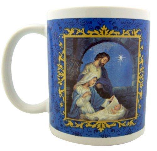 Christmas Nativity Prayer Holy Family Advent Coffee Mug, 10 Ounce