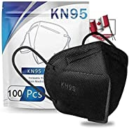 100Pack Adult _n95_ Disposable Certified Face_Mask,Disposable 5 Layers Non-woven Protective Face Covering, Bre