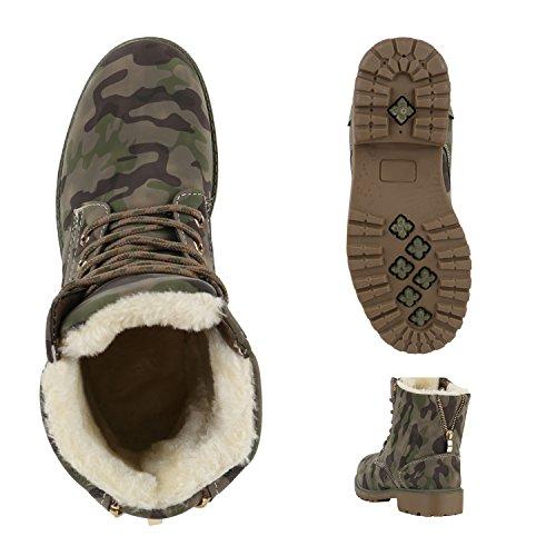 Worker Zipper Schuhe Booties Boots Warm Stiefeletten Camouflage Outdoor Herren Camouflage Übergrößen Gefütterte Stiefelparadies Damen Khaki Unisex Stiefel Flandell fC5qOq