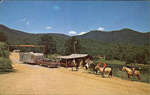 Track Rock, Route 2 Blairsville, Georgia Original Vintage Postcard