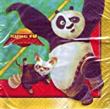 Kung Fu Panda Paper Beverage Napkins (16 Pack)