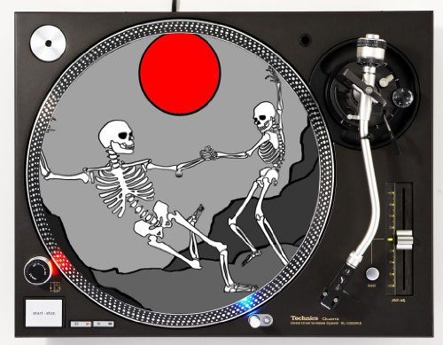 Lovers Eternal Dance DJ Turntable Slipmat