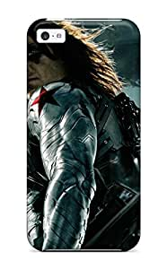 Case Cover For Iphone 5c - Retailer Packaging The Winter Soldier Protective Case 6631981K87199752