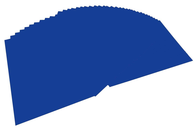 Bringmann - Risma di carta in formato A4, 100 fogli 36 ultramarin