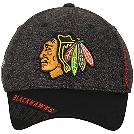 6fc62f73143 coupon code for chicago blackhawks structured flex center ice reebok hat  size l xl m670s 5d5ec
