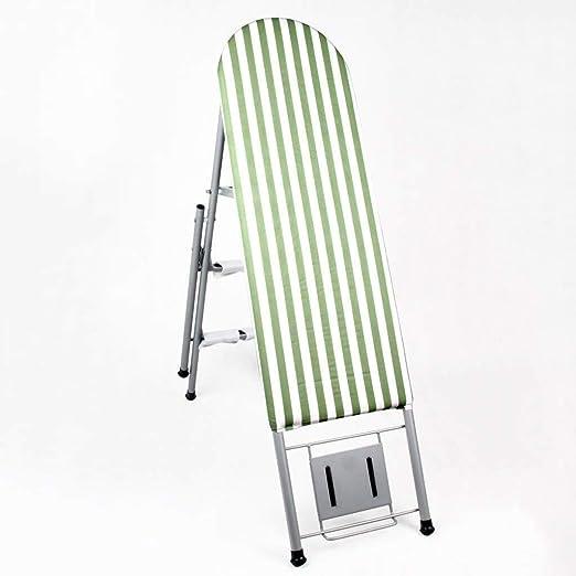 AJZXHE Tabla de Planchar Tabla de Planchar, Tabla de Planchar Plegable de la Escalera del Estante Que Plancha del hogar Tabla de Planchar Plegable (Color : B): Amazon.es: Hogar