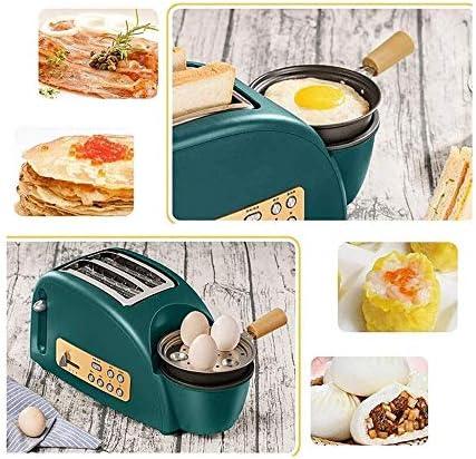Bdesign Broodrooster, for Grilled Toast Verwarming Brood gekookte eieren gebakken spek pannenkoek, 5 Speed Adjustment, 1200W