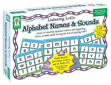 Amazoncom Alphabet Names Sounds Learn To Identify Alphabet
