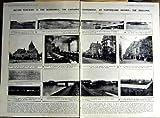 Print 1922 British War Ships Smallpox Ouchy Parliament War 139AN311