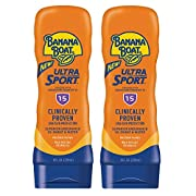Banana Boat Ultra Sport Reef Friendly Sunscreen Lotion, Broad Spectrum SPF 15, 8 Ounces – Twin Pack