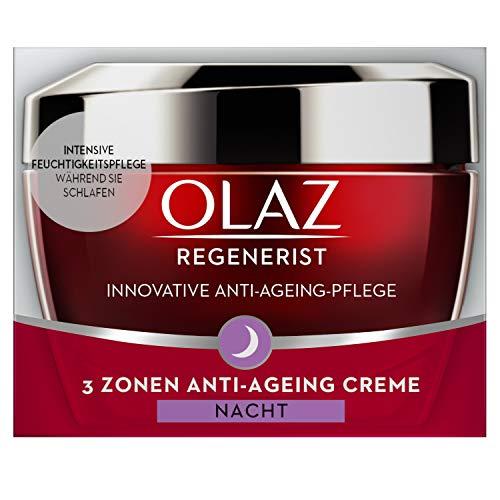 Olaz Regenerist 3-Zonen Anti-Aging Nachtcreme, 50 ml