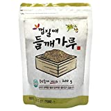 Ground Non-Peeled Black Perilla Powder 200g, Korea