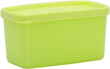 Para frutas y verduras Caja de plástico rectangular refrigerador sellado congelado Caja de fruta fresca (Color : 2): Amazon.es: Hogar