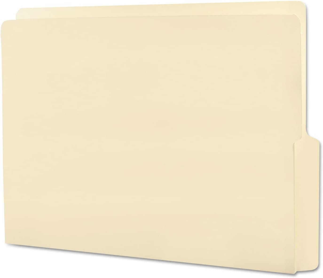 SMD24128 Smead 24128 Manila End Tab File Folders with Reinforced Tab