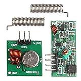 5Pcs 433 MHz RF Transmitter Receiver Module