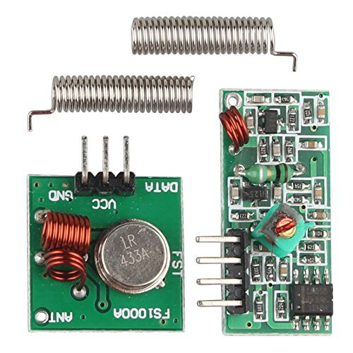 Galleon - 5Pcs 433 MHz RF Transmitter Receiver Module