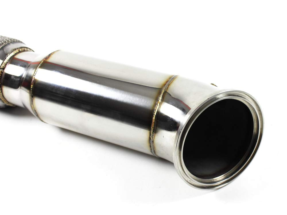 1026151 PREMIUM Downpipe 89mm Hosenrohr High Flow 76mm f/ür F-Reihe B58 Motor