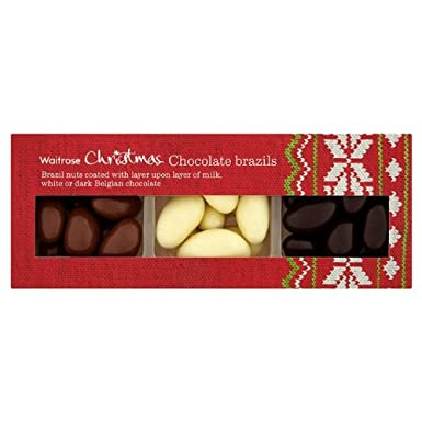 Chocolate Brazil Nut Assortment Waitrose 2x200g Amazonco