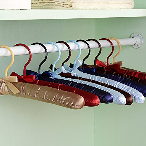 el bulli/ solid color foam hanger/ satin cloth support/clothing store fabric hanger-A by BAIJA Hanger