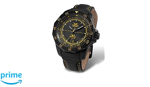 Amazon.com  Vostok Europe N1 Rocket Russian Men s Watch NH35A 2254151   Watches b04181d3a44