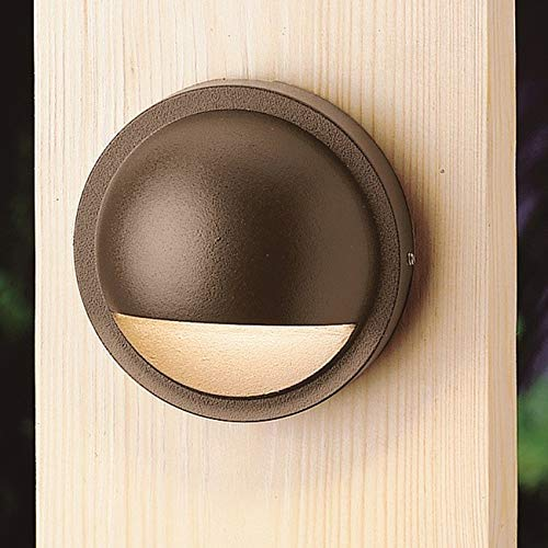 (Kichler 15764AZT30R Half Moon LED Deck)