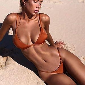 Dressin-Womens-Bikini-Set-Sexy-Solid-Push-up-Padded-Bra-Swimsuit-Two-Piece-Tankinis-Bathing-Suit-Beachwear-Swimwear