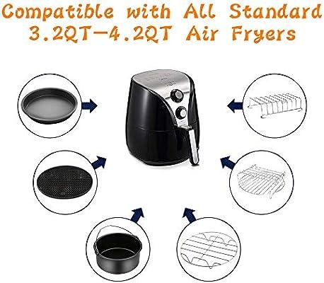 Amazon.com: Accesorios para freidora de aire compatibles con ...