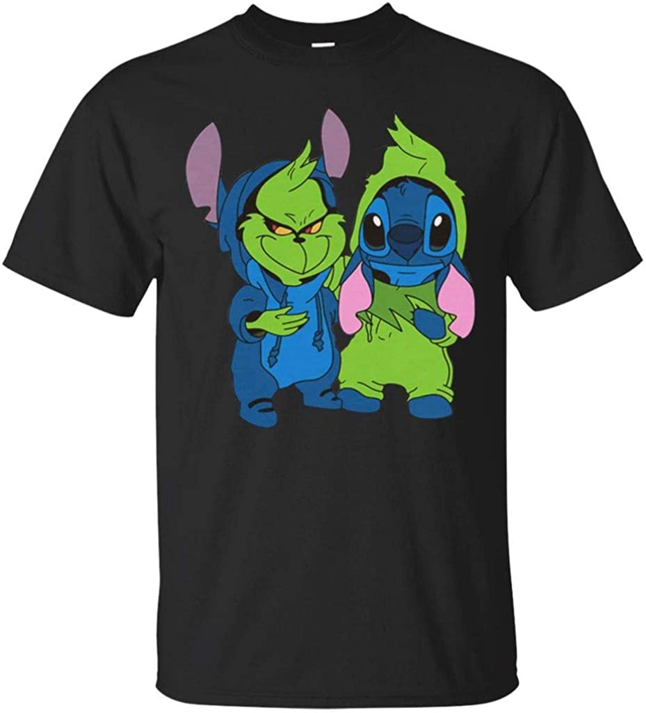 Teered The Grinch and Stitch