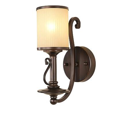 Applique Murale Retro Americain Lampe En Fer Forge Lampe Salon