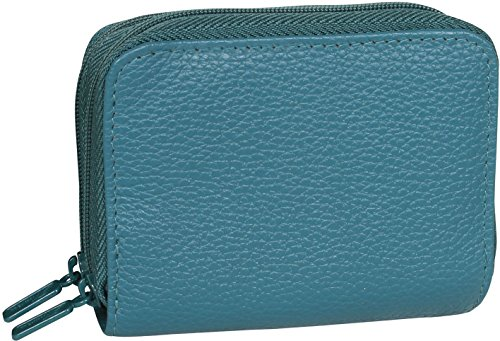 buxton-womens-leather-mini-accordion-wizard-wallet-teal