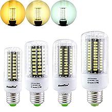 ILS - E27 E14 E12 E17 GU10 B22 LED Corn Bulb 7W 72 SMD 5736 LED Lamp Ampoule Led Light AC85-265V