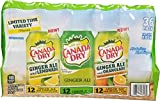 Canada Dry Ginger Ale Variety Pack Limited Time Offer, 432 Fluid Ounce