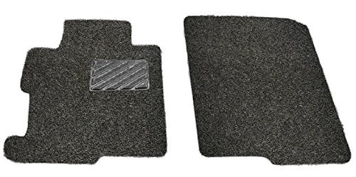 (Custom Fit Heavy Duty Custom Fit Car Floor Mat for 2014-2018 Acura MDX SUV, All Weather Protector 2 pieces front seat set (Black))
