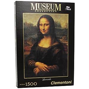Clementoni 31974 Puzzle Museum Collection Leonardo Gioconda 1500 Pezzi