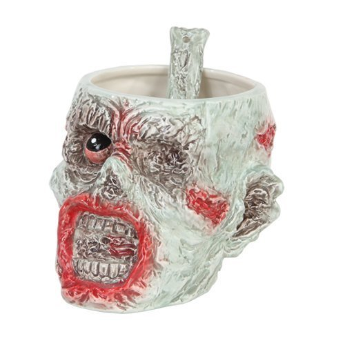 Walking Dead Zombie Head Bowl with Spoon Set by Pacific Giftware