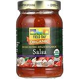 Field Day Fire Roasted Garlic Medium Salsa, 16 Ounce - 12 per case.