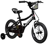 Schwinn Koen Boy's Bike, Featuring SmartStart Frame to Fit Your Child's Proportions, 14inches Wheels, Black