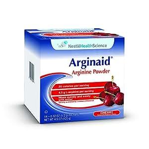 Amazon.com : Arginaid Arginine Powder Drink Mix, Cherry, 0 ...
