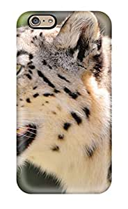 AmyAMorales Fashion Protective Snow Leopard Case Cover For Iphone 6