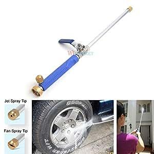 High pressure washer jet power spray nozzle - Turn garden hose into pressure washer ...