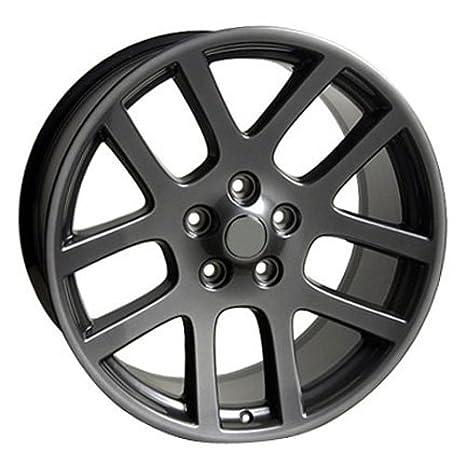 amazon oe wheels 22 inch fits chrysler aspen dodge dakota Green Dodge Ram amazon oe wheels 22 inch fits chrysler aspen dodge dakota durango ram 1500 ram srt style dg51 22x10 rims gunmetal set automotive