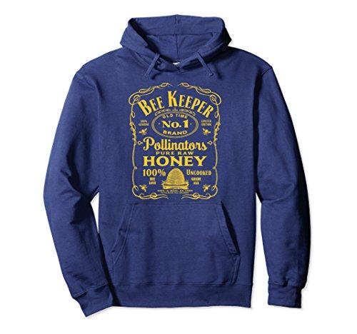 Old Navy Womens Pullover (Unisex Beekeeper Hoodie Beekeeping Sweatshirt Old Time Honey Large Navy)