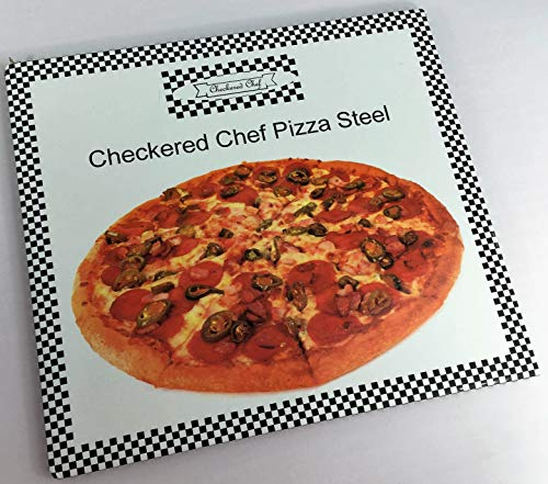 Checkered Chef Pizza Steel - Baking Steel - Steel Pizza Stone For Oven Or Grill - Perfect Pizza In Your Home Oven by Checkered Chef (Image #6)