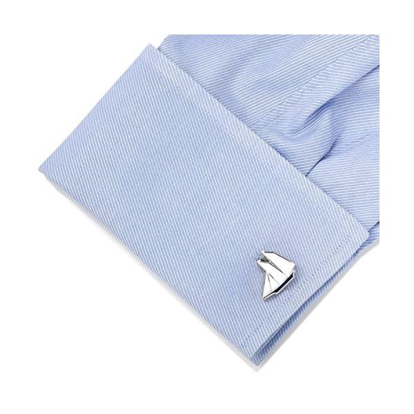 Cufflinks-Inc-Mens-Blue-and-White-Sailboat-Cufflinks
