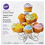Wilton Cupcakes N More Small Cupcake Stand - Metal Dessert Stand