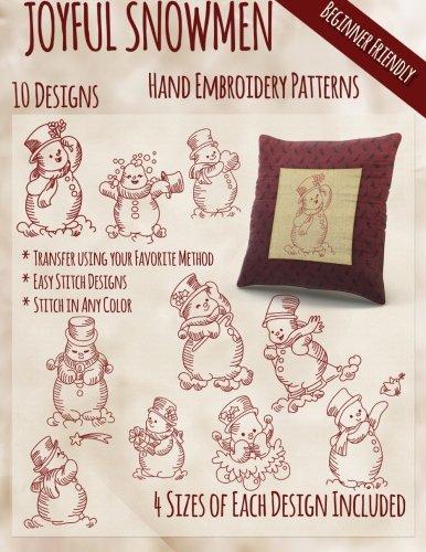 Joyful Snowmen Hand Embroidery (Joyful Embroidery)
